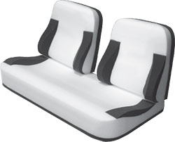 "38"" Bucket Back Bench Seat Foam Kit"